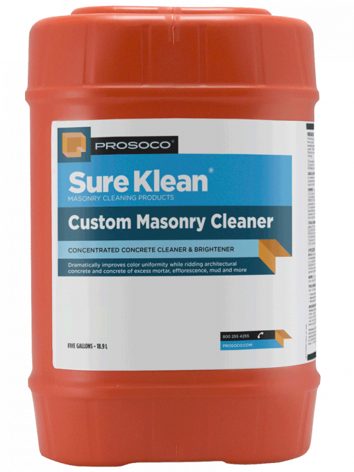 Prosoco Sure Klean Custom-Masonry-Cleaner-5-Gal