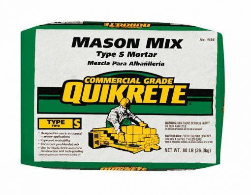 Quikrete Mason Mix Type S 80 lb
