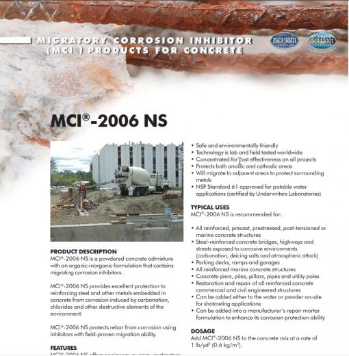 MCI 2006 NS