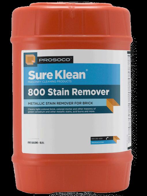 Prosoco Sure Klean 800 Stain Remover- 5 gallon