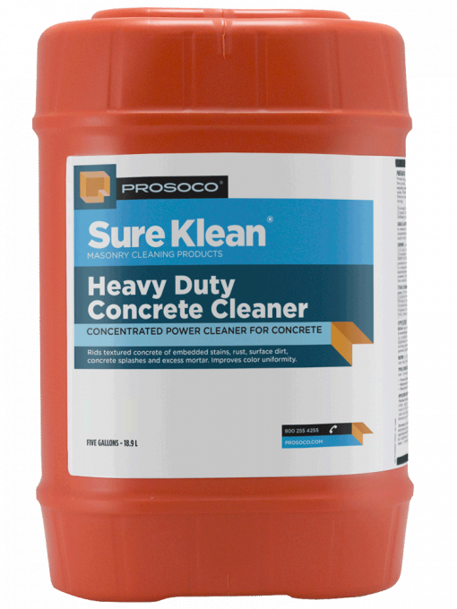 Prosoco Sure Klean Heavy Duty Concrete Cleaner