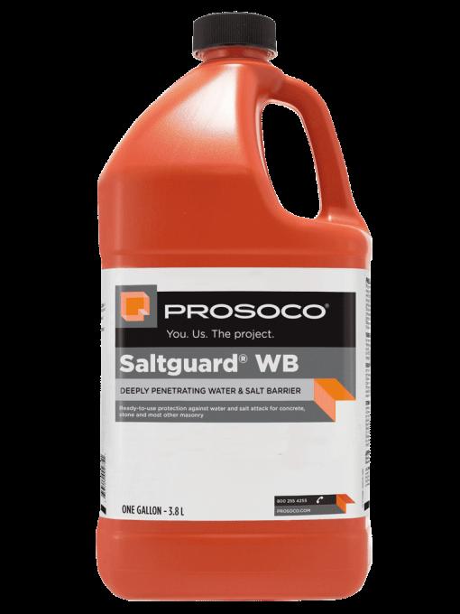 one gallon size Prosoco Saltguard WB