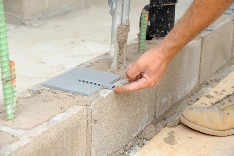 BlockFlash MortarNet, From SMART Building Supply, Cincinnati, OH