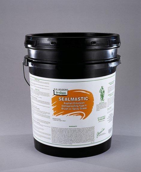 W R Meadows Sealmastic Emulsion Damproofing Type 2