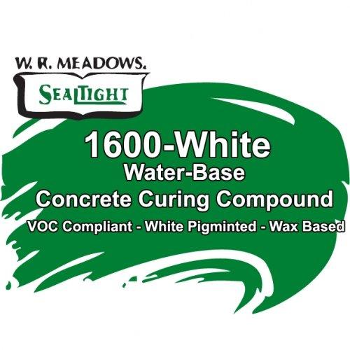 1600 White-Concrete Curing Compound, SMART Building Supply, Cincinnati, OH