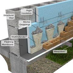 WallDefender, Mortar Net From SMART Building Supply Cincinnati, OH