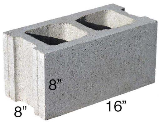 Lightweight Concrete Block, Hollow from SMART Building Supply, Cincinnati, OH