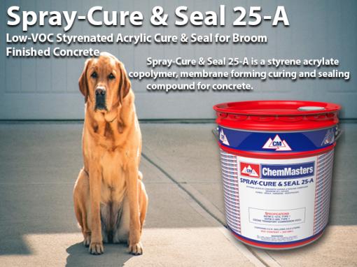 ChemMaster Spray Cure & Seal 25