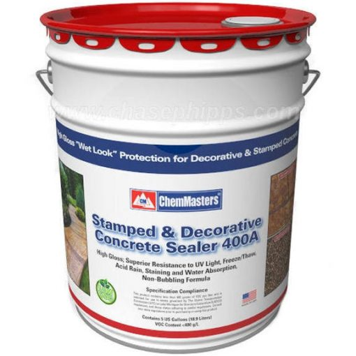 ChemMaster Stamped and Decorative Concrete Sealer 400A